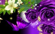 Purple Rose Wallpaper Desktop  16 Background Wallpaper