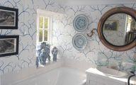White Flower Bathroom Wallpaper  2 Cool Hd Wallpaper