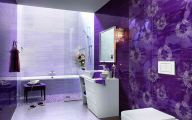 White Flower Bathroom Wallpaper  6 Widescreen Wallpaper