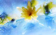 Yellow Flower Hd Wallpaper  15 Wide Wallpaper