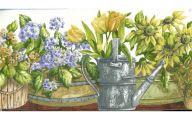 Yellow Flower Wallpaper Border  16 High Resolution Wallpaper