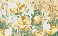 Yellow Rose Wallpaper Border  11 Desktop Background