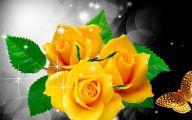 Yellow Rose Wallpaper Border  21 Desktop Wallpaper