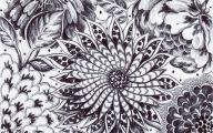 Black Flower Gardens  4 Free Hd Wallpaper