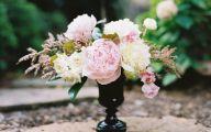 Black Flowers In Vase  28 Desktop Background