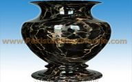 Black Flowers In Vase  32 Wide Wallpaper