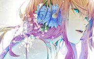 Blue Flower Anime  10 Cool Hd Wallpaper