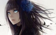Blue Flower Anime  14 Desktop Wallpaper