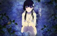 Blue Flower Anime  28 Cool Hd Wallpaper