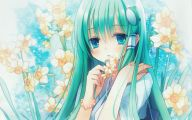 Blue Flower Anime  29 Desktop Wallpaper