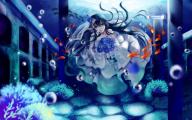 Blue Flower Anime  3 Cool Wallpaper