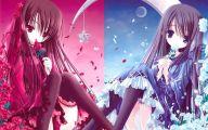 Blue Flower Anime  9 Free Hd Wallpaper