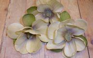 Cheap White Rose Artificial Flower Bush  34 Background