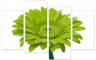 Green Flowers Canvas  8 Cool Wallpaper
