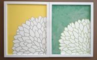 Green Flowers Canvas  9 Cool Wallpaper