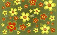 Green Flowers Dream  24 Background Wallpaper