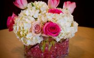 Pink Flower Arrangements For Baby Shower  18 Hd Wallpaper