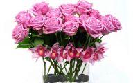 Pink Rose Flower Arrangements  24 Hd Wallpaper