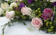 Pink Rose Flower Arrangements  5 Desktop Wallpaper