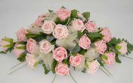 Pink Rose Flower Arrangements  6 Wide Wallpaper