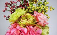 Pink Rose Flower Arrangements  9 Wide Wallpaper