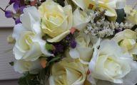 Purple And Rose Cascade Flower Bouquets  11 Desktop Background