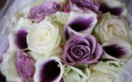 Purple And Rose Cascade Flower Bouquets  9 High Resolution Wallpaper