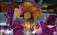 Purple Flower Arrangements Centerpieces  10 Wide Wallpaper