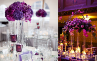 Purple Flower Arrangements Centerpieces  19 Background