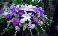 Purple Flower Arrangements For Funeral  10 Desktop Background