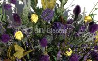 Purple Rose Flower Arrangements  30 Desktop Wallpaper