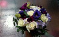 Purple Rose Flower Arrangements  5 Wide Wallpaper