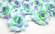 Purple Rose Silk Flower  13 Hd Wallpaper