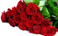 Red Flower Bouquet  9 Background Wallpaper