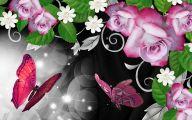 White And Black Rose Flower Design In Cdr  26 Free Wallpaper