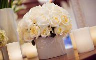 White Flowers Centerpieces  11 Hd Wallpaper