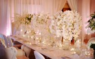 White Flowers Centerpieces  4 High Resolution Wallpaper