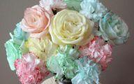 White Flowers Colored Water  21 Desktop Wallpaper