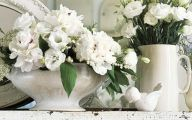 White Flowers Decorations  2 High Resolution Wallpaper