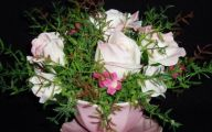 White Rose Flower Arrangements  10 Widescreen Wallpaper