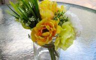 Yellow Rose Flower Arrangement  7 Widescreen Wallpaper