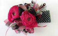 Black Flowers Dresses 31 Background