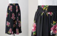 Black Flowers Skirt 28 Cool Hd Wallpaper