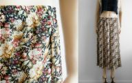 Black Flowers Skirt 33 Wide Wallpaper