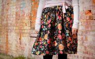 Black Flowers Skirt 36 Cool Wallpaper