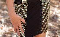 Black Flowers Skirt 8 Widescreen Wallpaper
