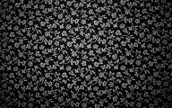 Black Flowers Wall Design 12 Free Hd Wallpaper