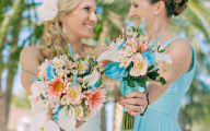 Blue Flowers Beach Wedding Decoration 30 Free Wallpaper