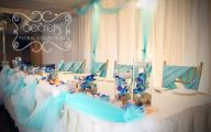 Blue Flowers Beach Wedding Decoration 7 Hd Wallpaper