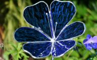 Blue Flowers Garden 12 Widescreen Wallpaper